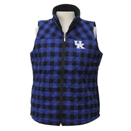 LADIES KENTUCKY BUFFALO CHECK VEST Thumbnail