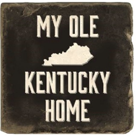 KENTUCKY MY OLE KY HOME MARBLE COASTER Thumbnail