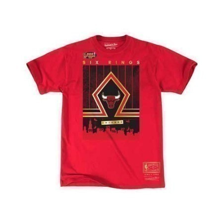 MENS NBA BULLS SOUTH SIDE GOLD TEE Thumbnail