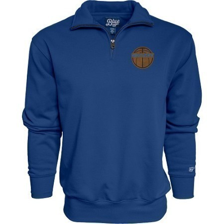 MENS KENTUCKY BASKETBALL LEATHER 1/4 ZIP  Thumbnail