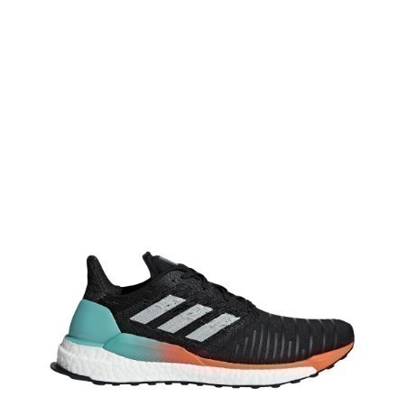 MENS ADIDAS SOLAR BOOST BLK/GRY TWO/AQUA Thumbnail