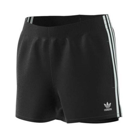 LADIES ADIDAS 3STRIPE SHORTS Thumbnail
