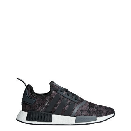 MENS ADIDAS NMD_R1 BLK/GRY FOUR/GRY FIVE Thumbnail