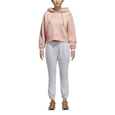 LADIES ADIDAS COEEZE CROP HOODIE Thumbnail