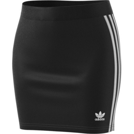 LADIES ADIDAS 3 STRIPE VELOUR SKIRT  Thumbnail