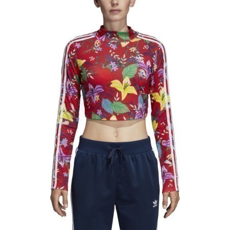 LADIES ADIDAS BLOSSOM LONG SLEEVE TEE Thumbnail