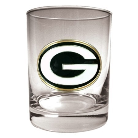 PACKERS 14OZ ROCKS GLASS Thumbnail