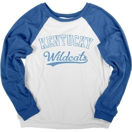 LADIES KENTUCKY ARCHED MARBLE COZY PULLOVER Thumbnail