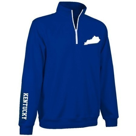 M KENTUCKY  1/4 ZIP PULLOVER Thumbnail