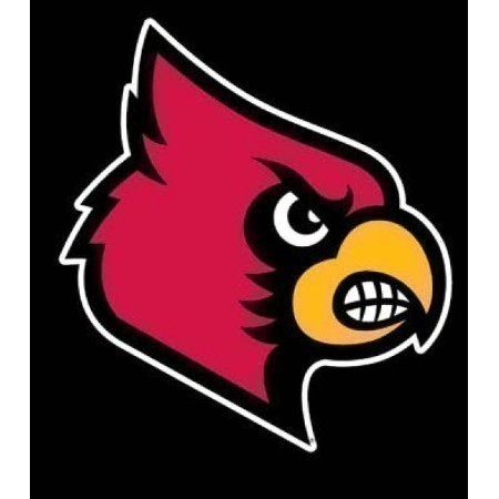 LOUISVILLE CARD HEAD DECAL 3.5