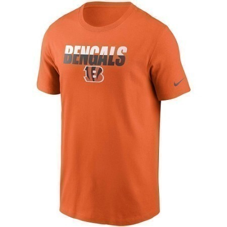 MENS BENGALS NIKE SPLIT TEAM TEE Thumbnail