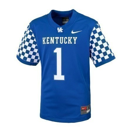 TODDLER KENTUCKY NIKE FOOTBALL JERSEY  Thumbnail