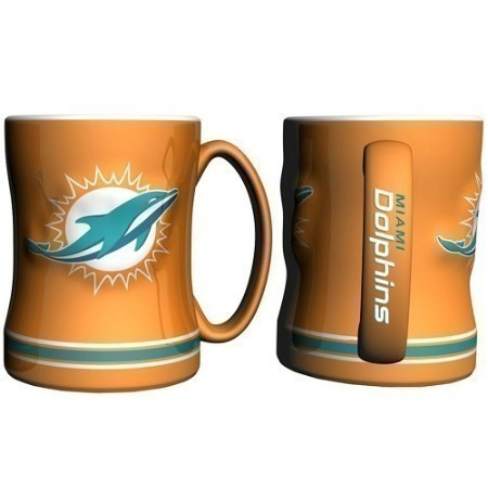 DOLPHINS SCULPTED RELIEF MUG Thumbnail