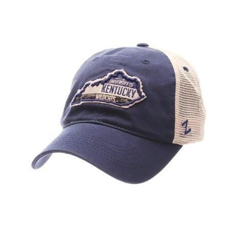MENS KENTUCKY ADJUSTABLE ROADTRIP STATE HAT Thumbnail