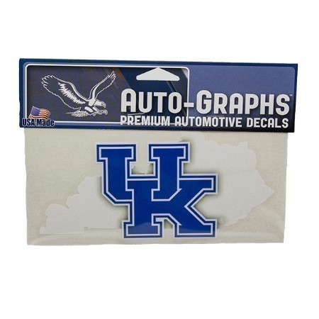 KENTUCKY STATE OUTLINE AUTO DECAL Thumbnail